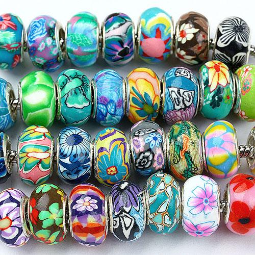 Polymer Clay charm beads