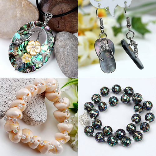 shell beads jewelry